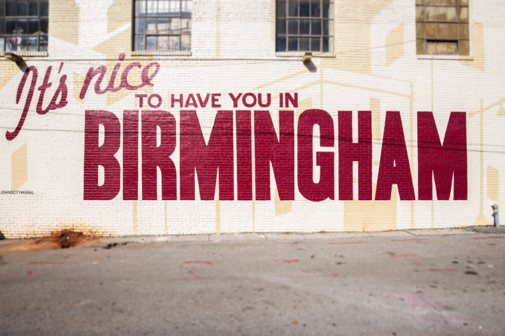 It's Nice to have you in Birmingham